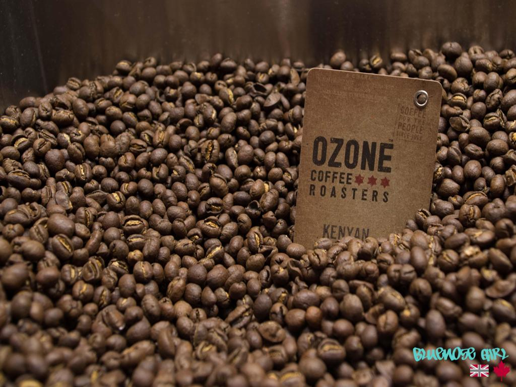Ozone coffee beans