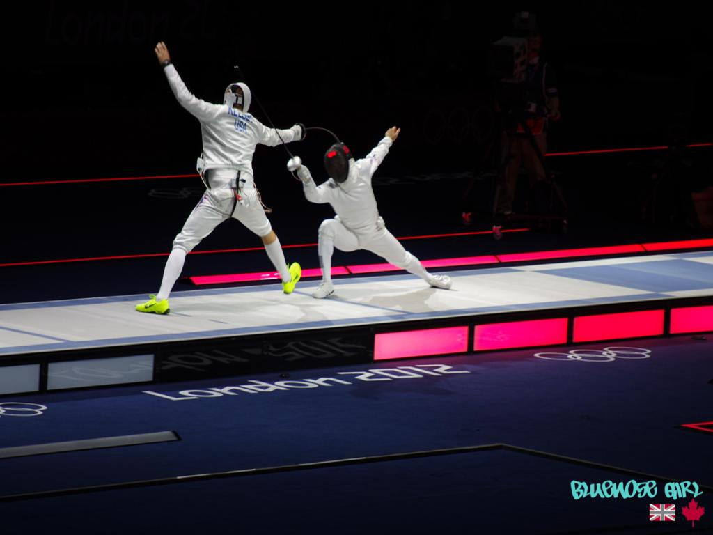 London 2012 Olympics Fencing