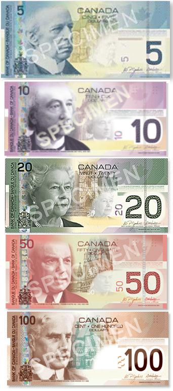 Canadian bills