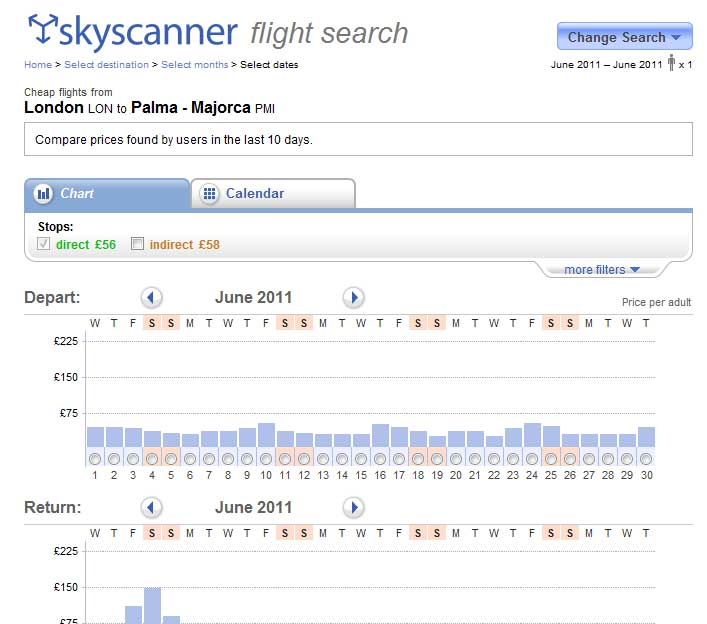 http://www.skyscanner.net