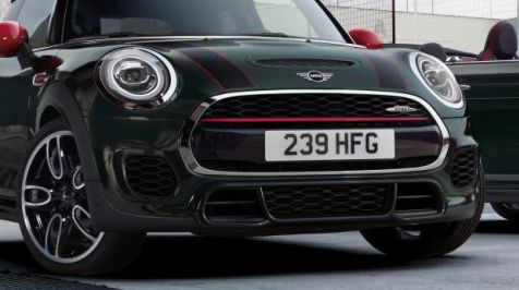 JCW front view