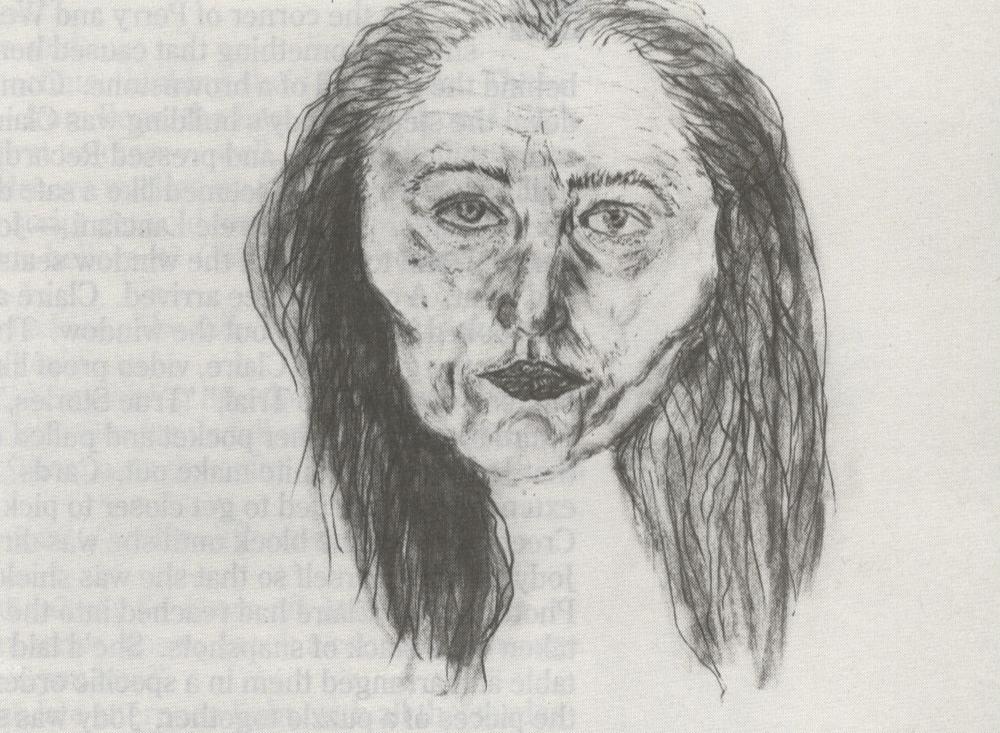 Kiki Smith, Self portraits, 1993. Courtesy of Joe Fawbush Gallery. - bomb_44_smith_004_body