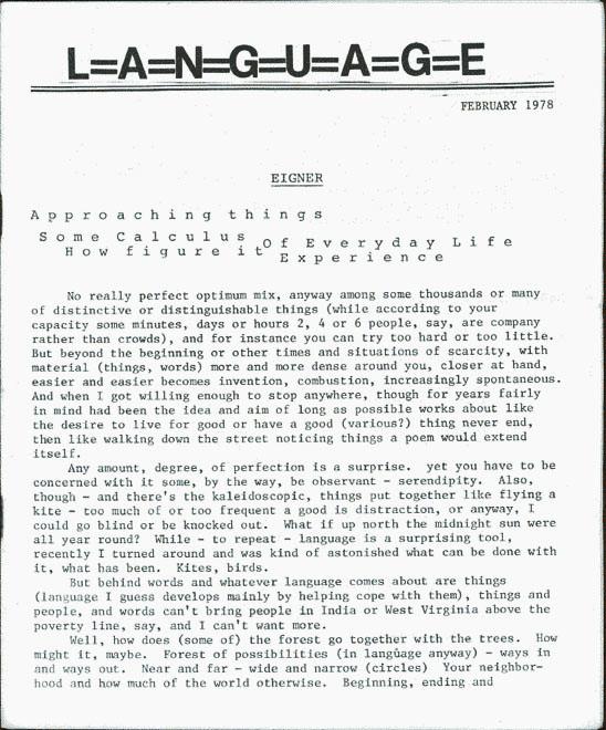 body language magazine article
