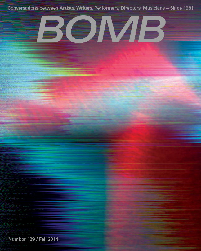The cover of BOMB 129