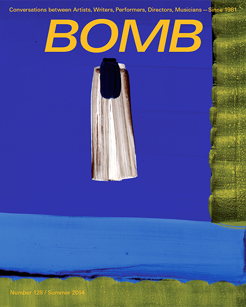 The cover of BOMB 128