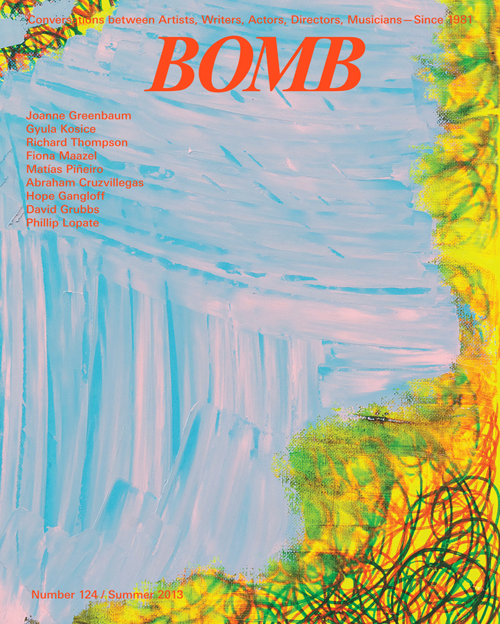 The cover of BOMB 124
