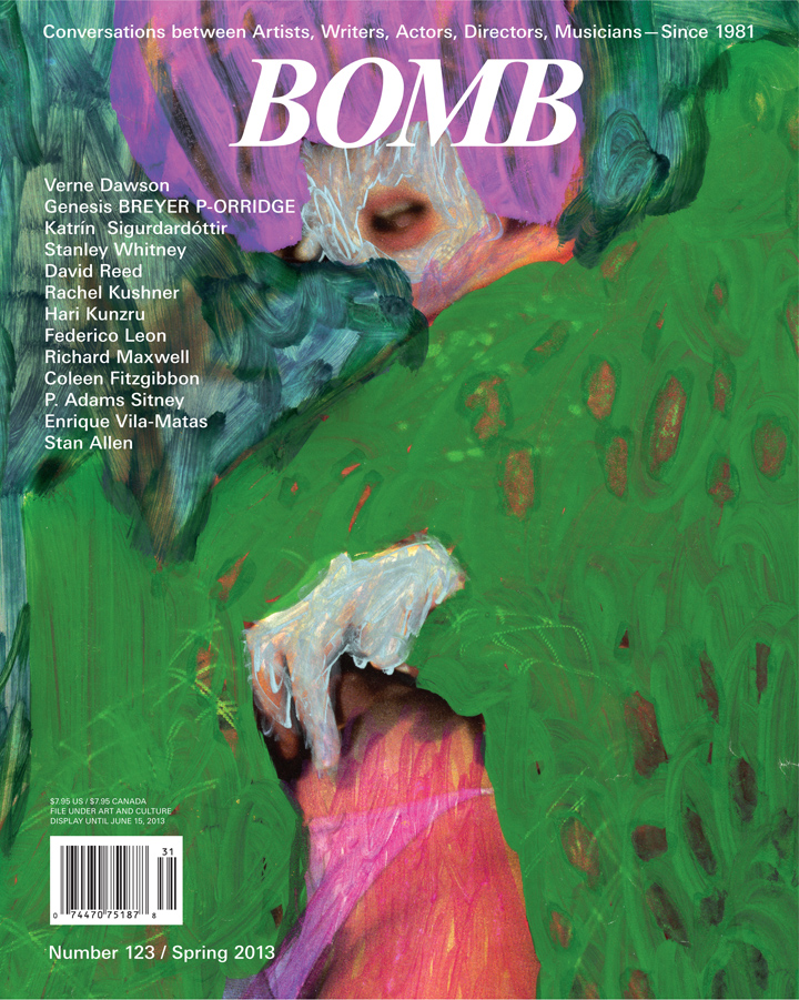 The cover of BOMB 123
