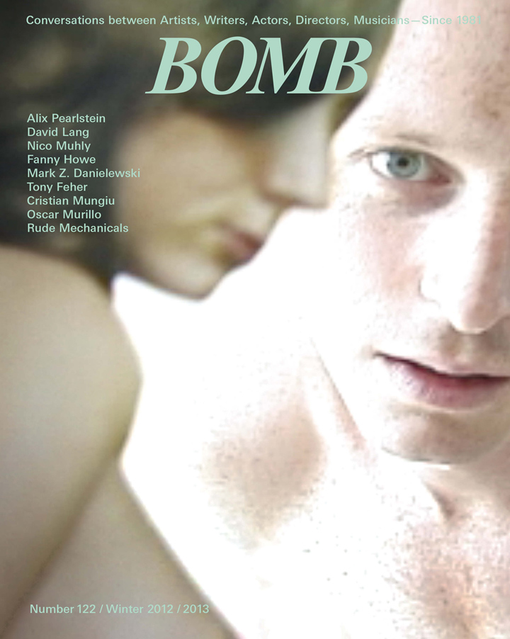 The cover of BOMB 122