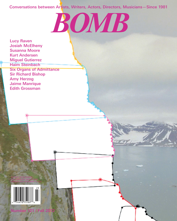 The cover of BOMB 121