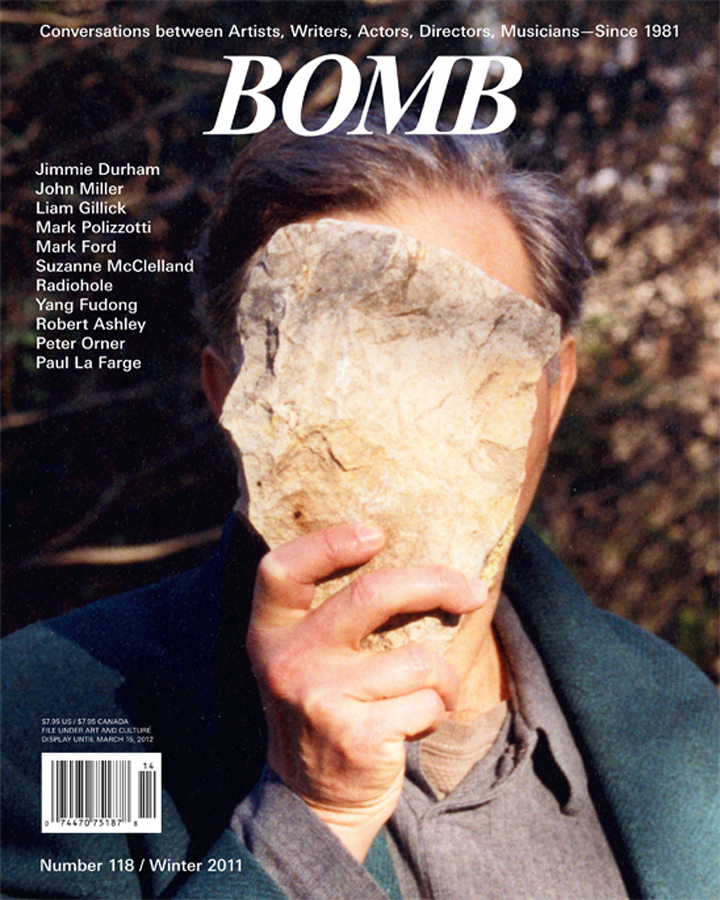 The cover of BOMB 118