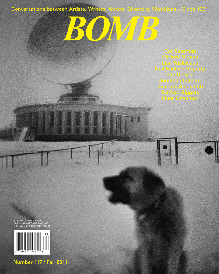 The cover of BOMB 117