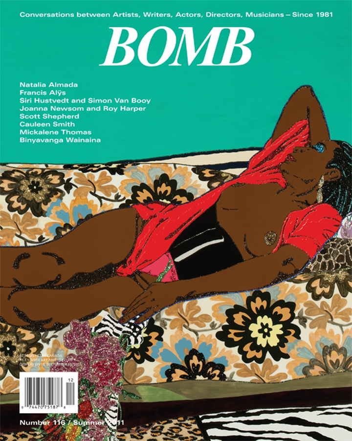 The cover of BOMB 116