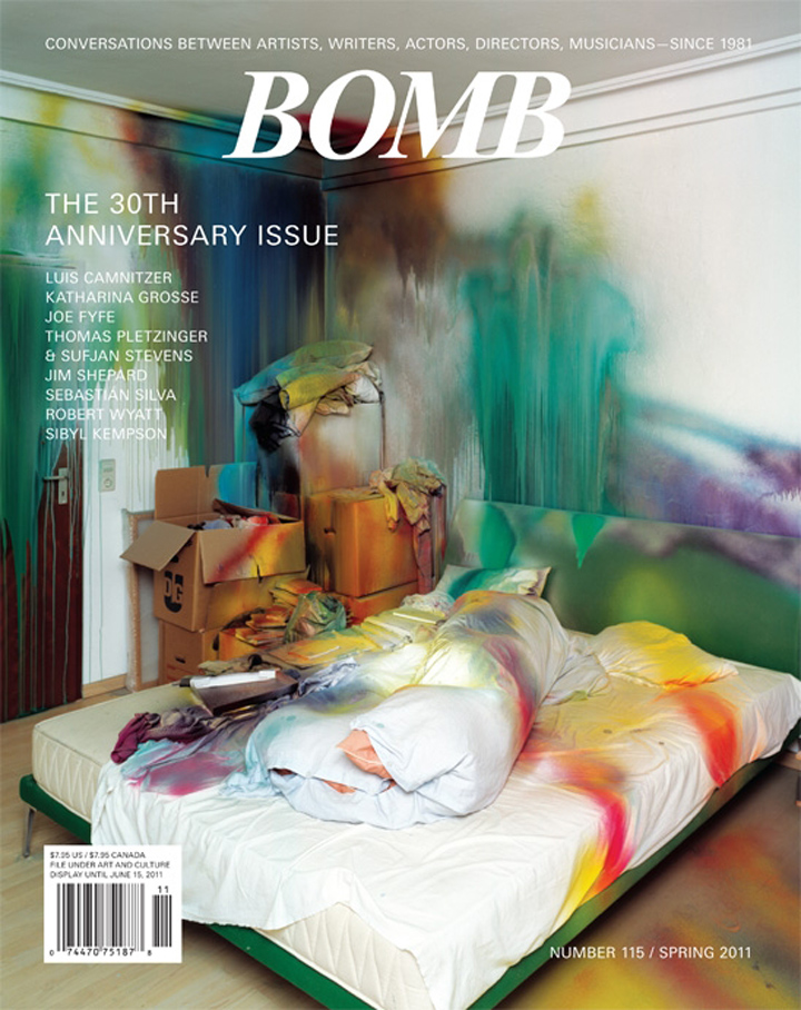 The cover of BOMB 115