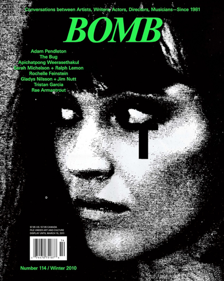 The cover of BOMB 114