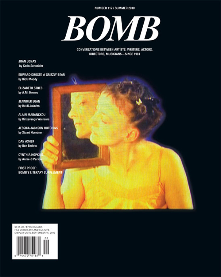 The cover of BOMB 112