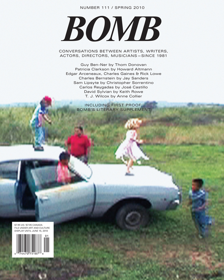 The cover of BOMB 111