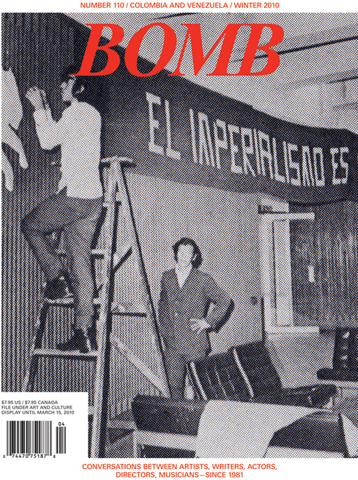 The cover of BOMB 110