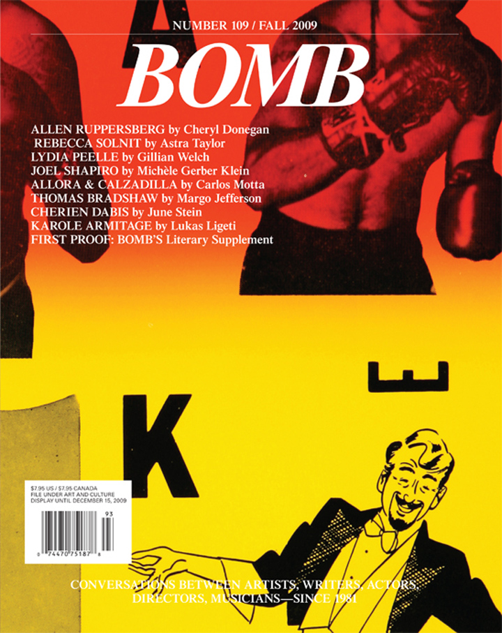 The cover of BOMB 109