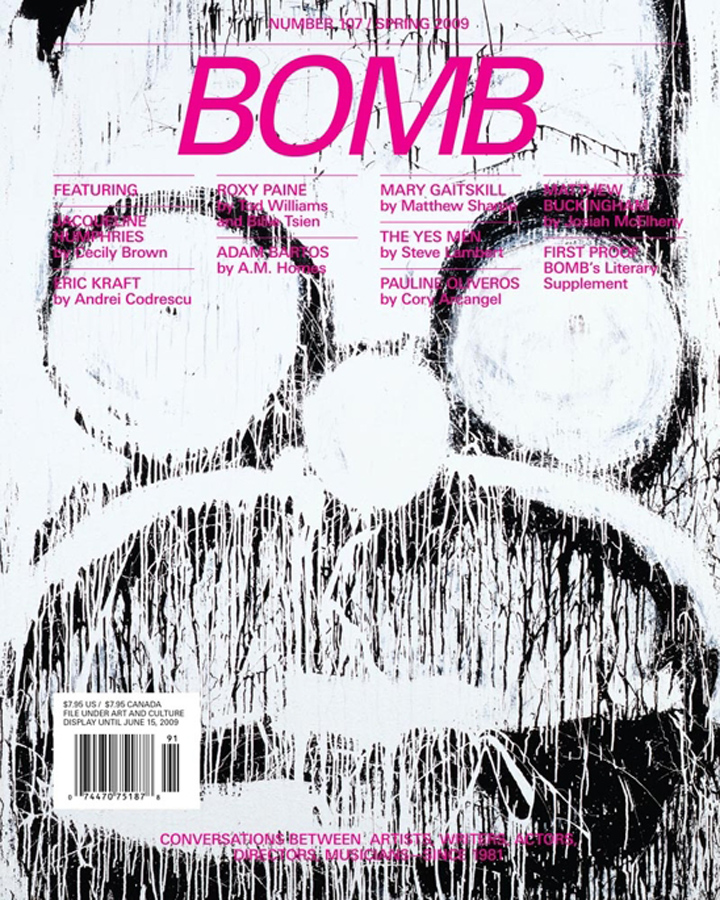 The cover of BOMB 107