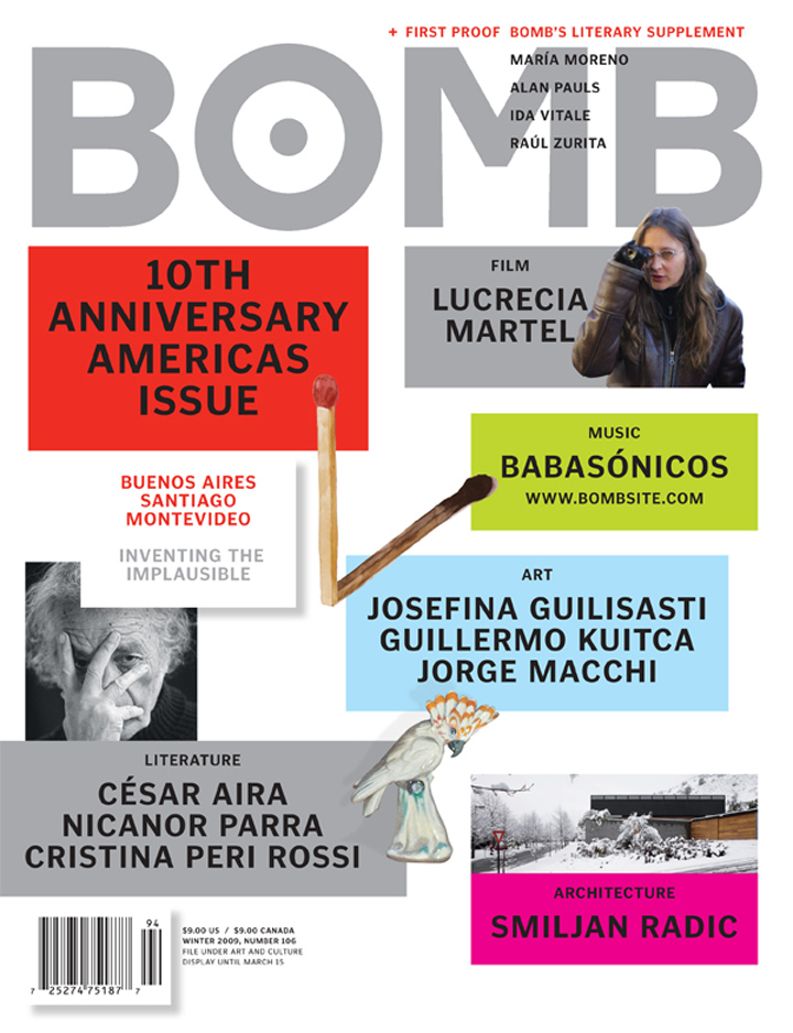The cover of BOMB 106