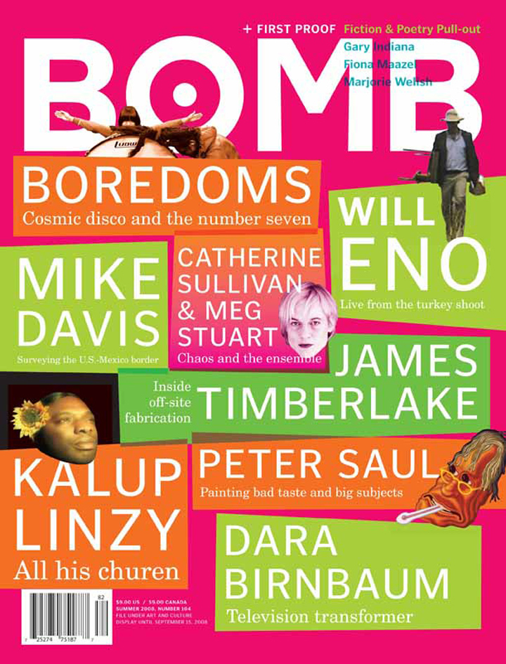 The cover of BOMB 104