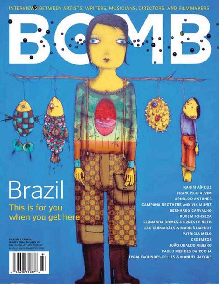 The cover of BOMB 102