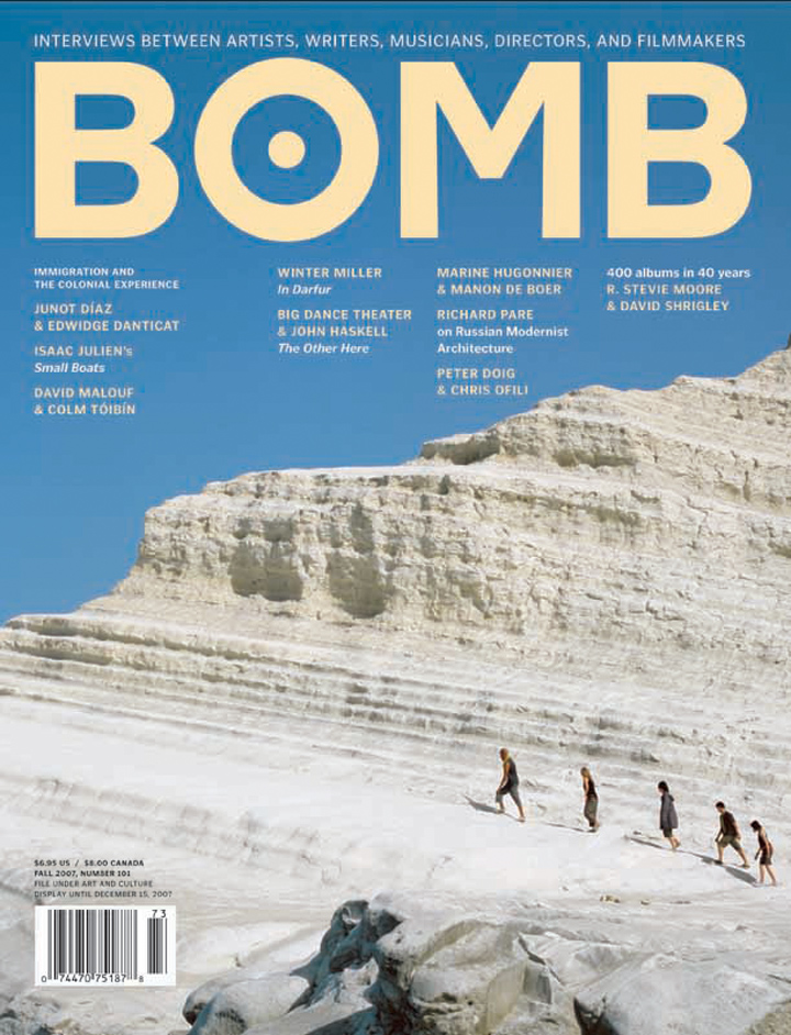 The cover of BOMB 101