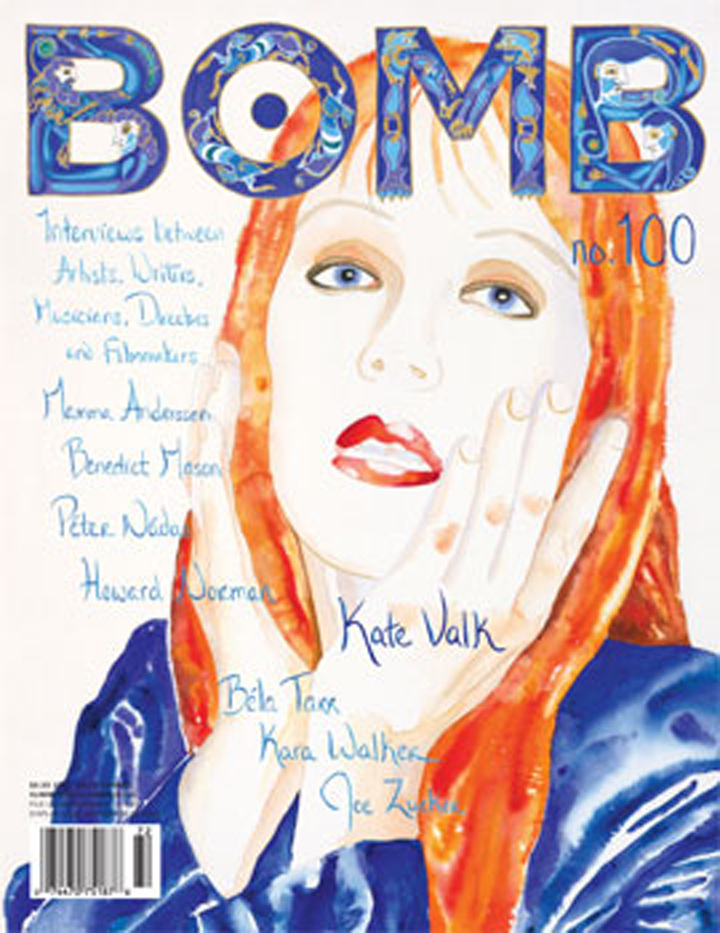 The cover of BOMB 100