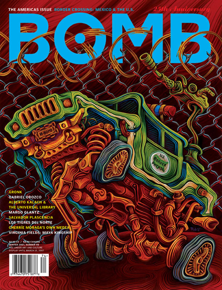 The cover of BOMB 98