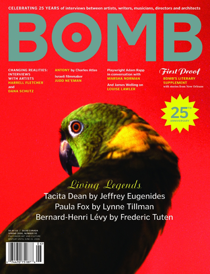The cover of BOMB 95
