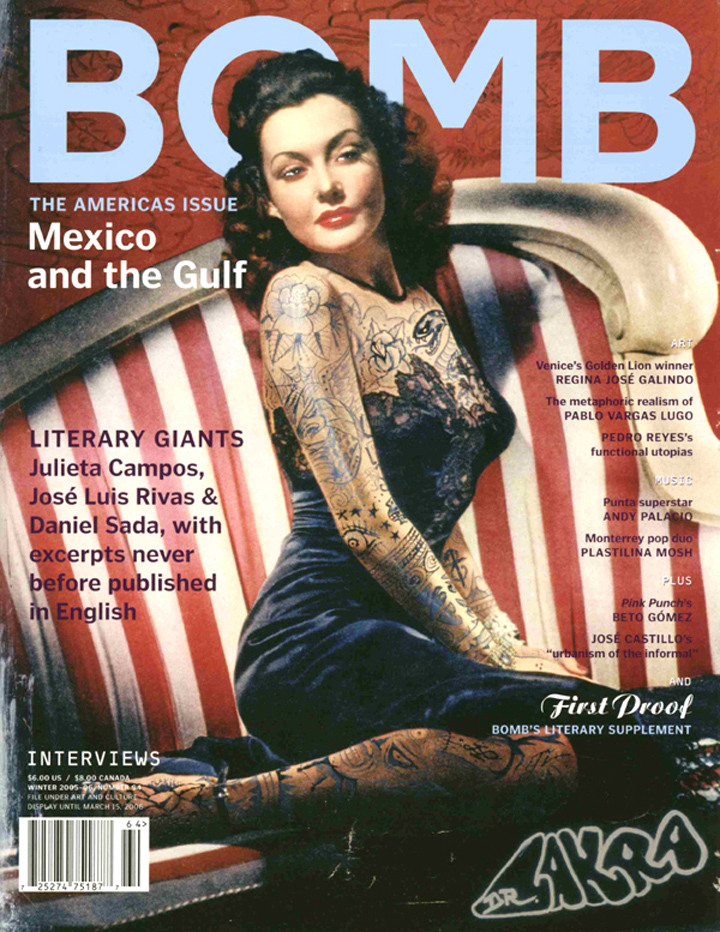 The cover of BOMB 94