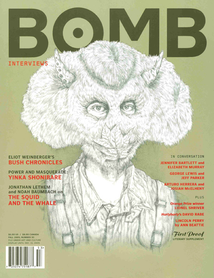 The cover of BOMB 93