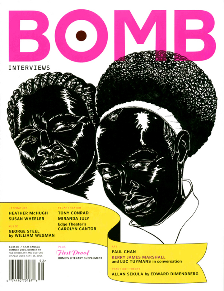 The cover of BOMB 92