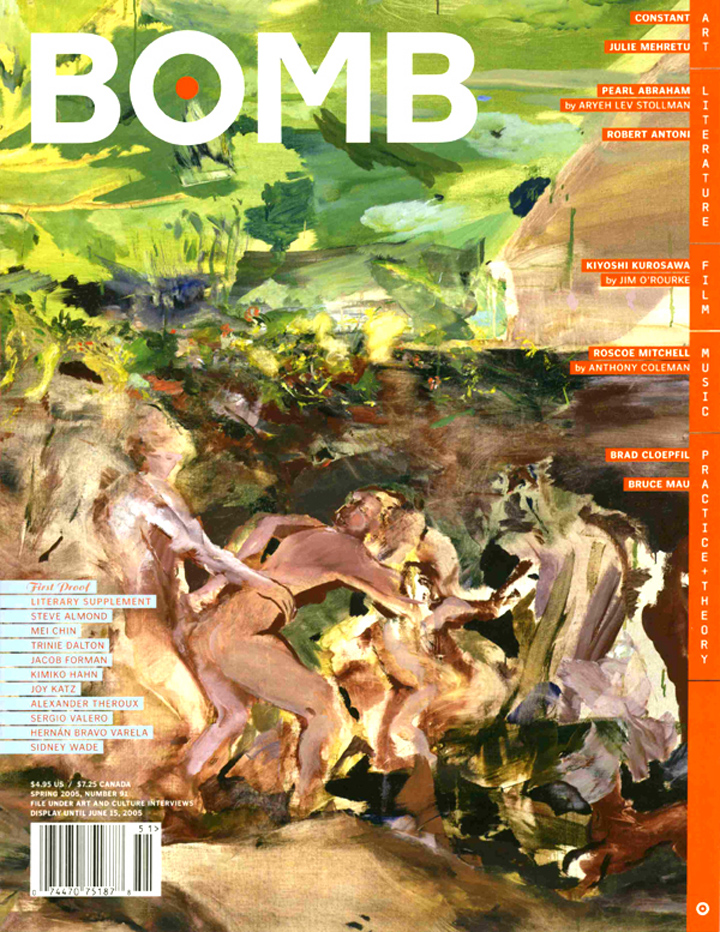 The cover of BOMB 91