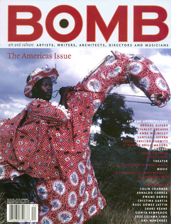 The cover of BOMB 86