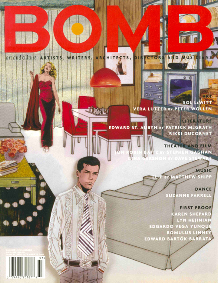 The cover of BOMB 85