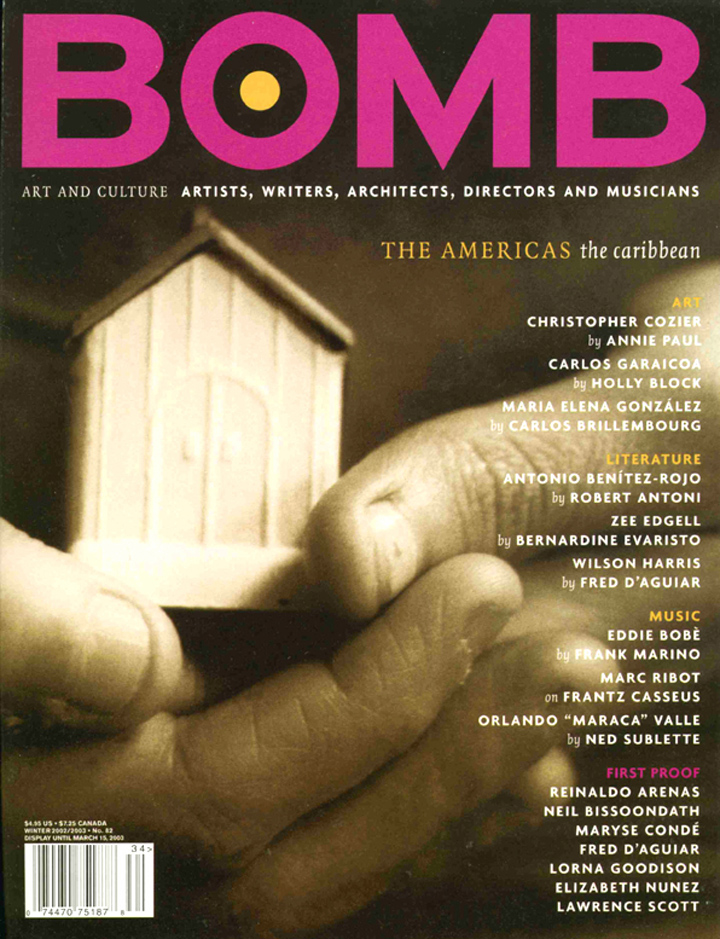 The cover of BOMB 82