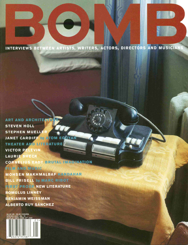 The cover of BOMB 79