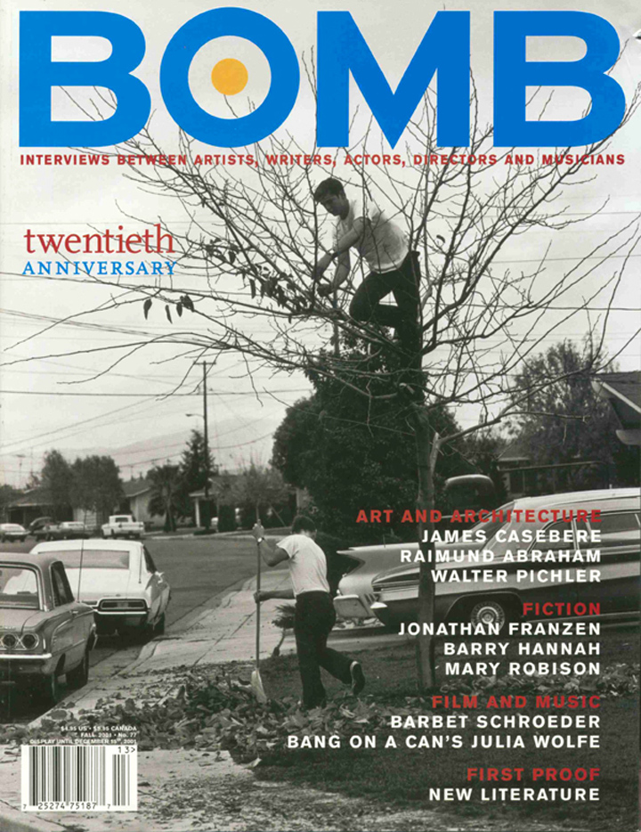 The cover of BOMB 77