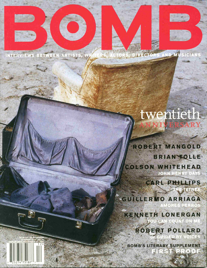 The cover of BOMB 76
