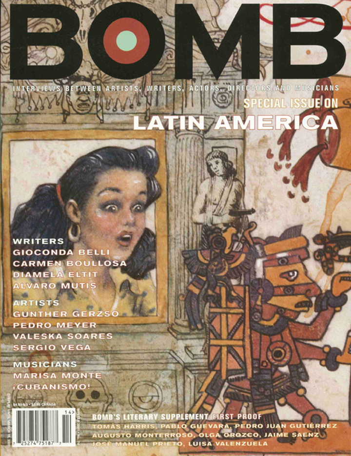 The cover of BOMB 74