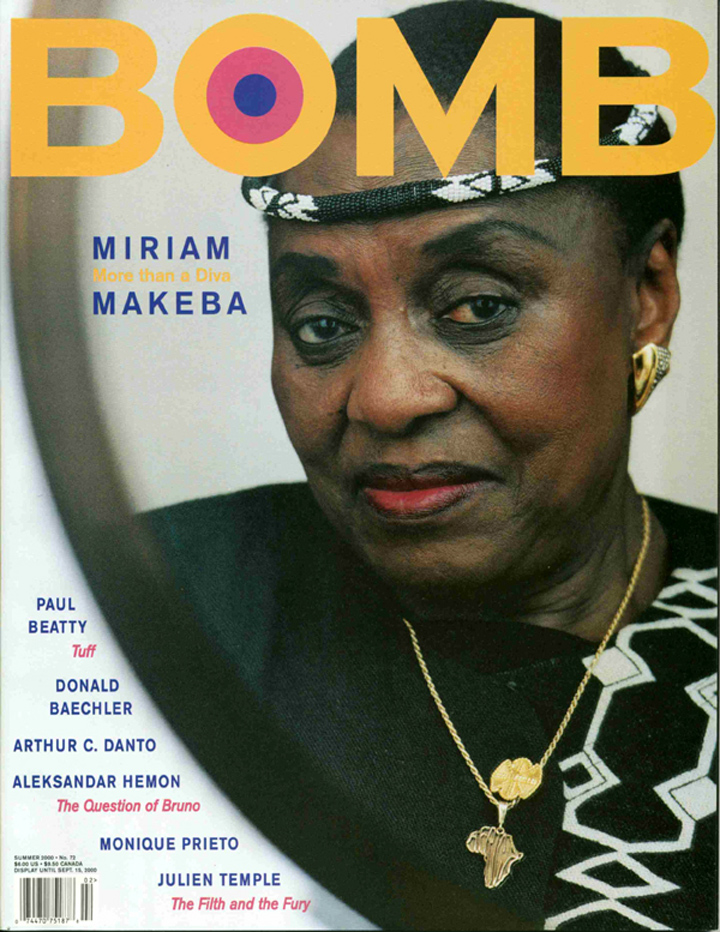 The cover of BOMB 72