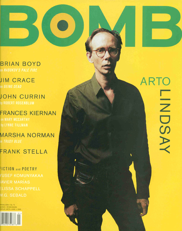 The cover of BOMB 71