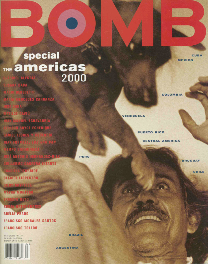 The cover of BOMB 70