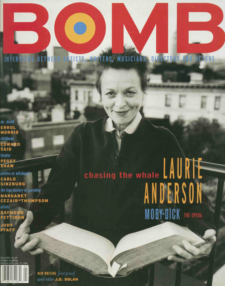 The cover of BOMB 69