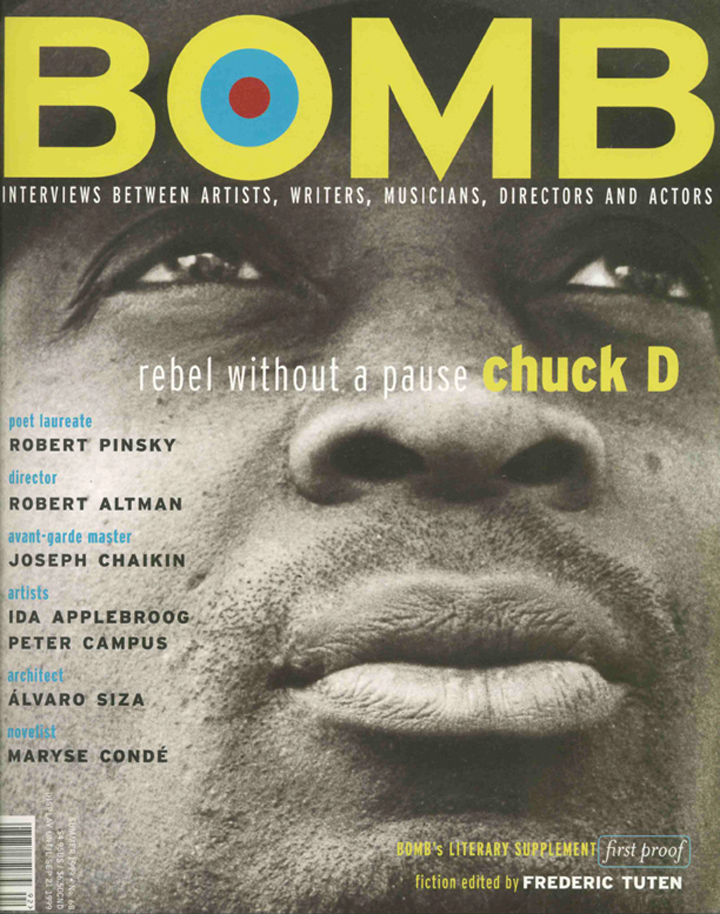 The cover of BOMB 68