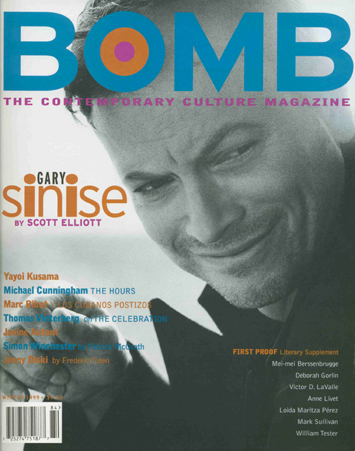 The cover of BOMB 66