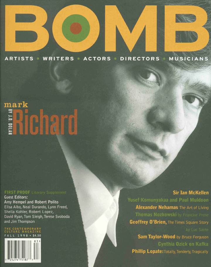 The cover of BOMB 65