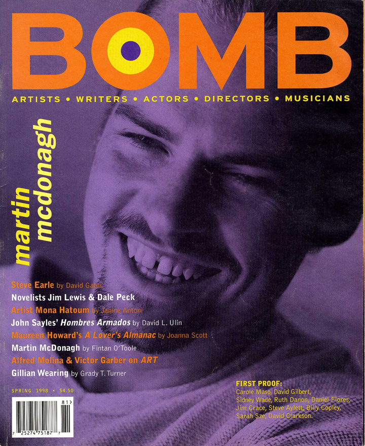 The cover of BOMB 63