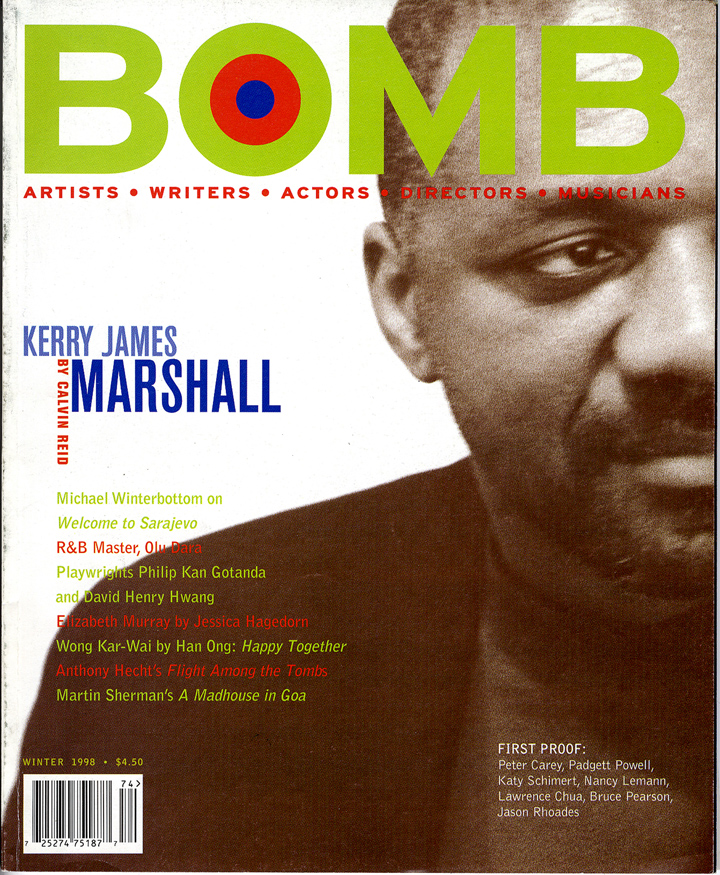 The cover of BOMB 62